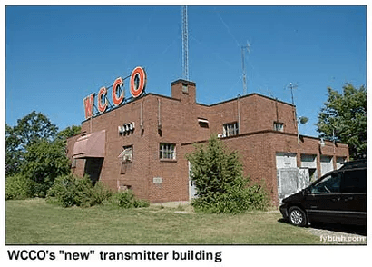 WCCO new transmitter building
