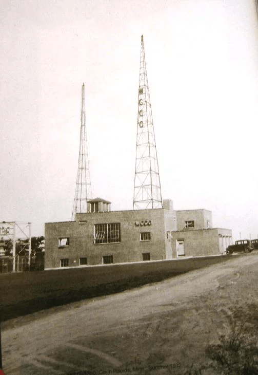 early WCCO transmitter